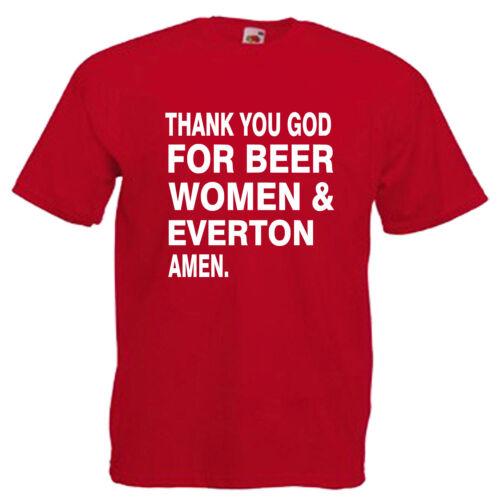 Beer Women Everton Children/'s Kids Childs T Shirt