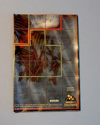 FANGORN FOREST EDORAS Lord of the Rings The Two Towers HeroClix LOTR OP MAP