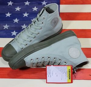CONVERSE-Chuck-Taylor-ALL-STAR-II-2-SAMPLE-HI-Green-Sage-Herbal-155701C-size-9