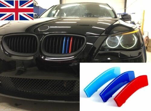 BMW M SPORT GRILLE 3 Bande A Clipser Série 3  F30 F31 SERIE 3 Décoration Tuning