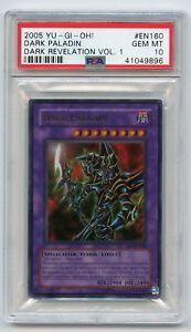 2005-Yu-Gi-Oh-Dark-Revelation-1-Dark-Paladin-DR1-EN160-Ultra-Rare-PSA-10-MINT