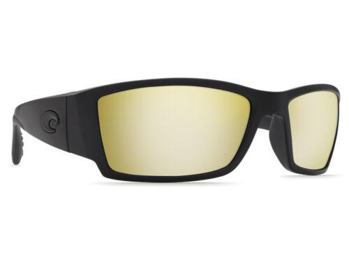 Costa Del Mar Corbina Blackout Silver Sunrise Mirror 580 Glass 580G NEW