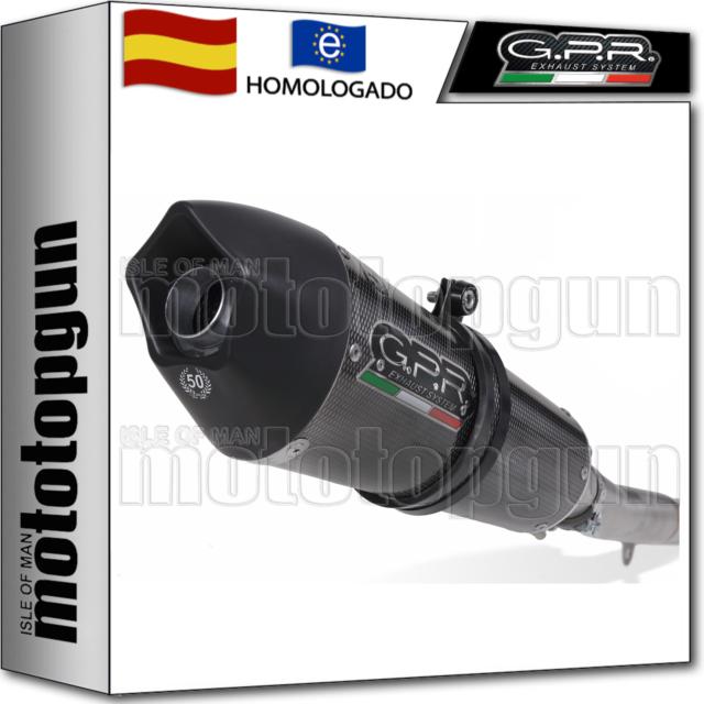GPR TUBO DE ESCAPE HOM GPE ANNIVERSARY POPPY SUZUKI GSF BANDIT 650 - S 2009 09