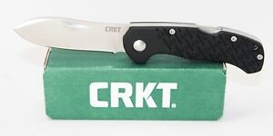 CRKT-Noma-Compact-Knife-Black-GFN-Handle-8Cr13MoV-Stainless-Plain-Edge-2814