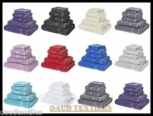 LUXURY-6PCS-TOWEL-BALE-SET-100-COTTON-BEST-2-x-FACE-2-x-HAND-2-x-BATH-TOWEL