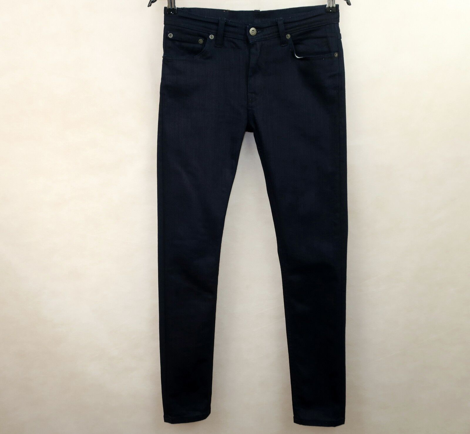 9d6c0dd0 LIVID JEANS WOMENS AVA JAPAN COMFORT blueE JEANS AVA MID RISE size W27 L30  NAVY nkvutd8120-Jeans