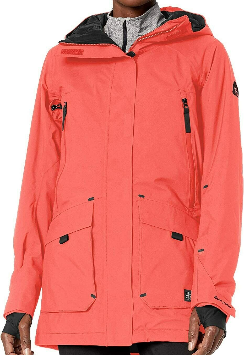 BILLABONG Women's TROOPER STX Snow 2020 Jacket - SRD - Medium - NWT