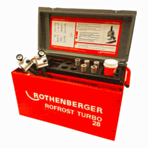 Rothenberger Rofrost Turbo 28 Electric  Pipe Freezing Kit 15002699 OL9 6TH