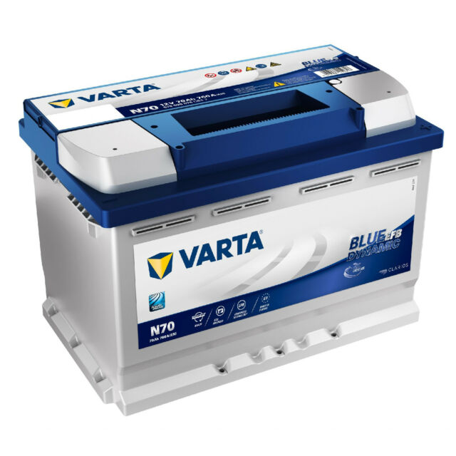 Varta Blue Dynamic 5524000473132 Autobatterien 12 V 52 Ah 470 A C22