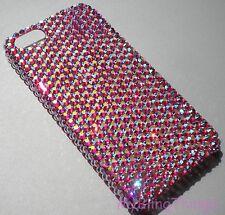 ROSE AB Rhinestone Bling Back Case for iPhone 5SE 5 5S made w/Swarovski Crystals