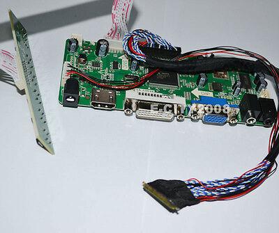 Power @USA HDMI+DVI+VGA LCD Controller Board For LP154WX5-TLA2 LP154WX5-TLB1