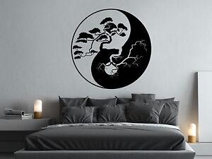Wandtattoo Yin Yang Bonsai Baum Bad Schlafzimmer Kuche Wohnzimmer