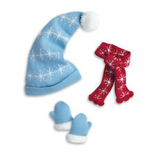 """American Girl MARYELLEN ICE SKATING ACCESSORIES for 18"""" Doll Hat Scarf Mittens"""