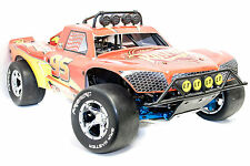 Primal RC Racing Slick Tires/Wheels Fits HPI Baja 5B 5T LOSI 5IVE-T DBXL Rovan