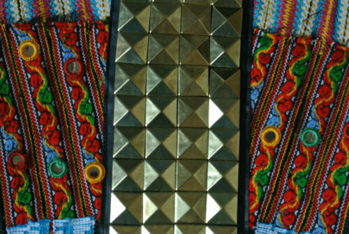 doré494 Camden cuir Veste miroirs mosaïque denim Religion en à en True doré Jack UqzMVSpG