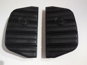Harley-Davidson-Skull-Sozius-Trittbretteinlagen-Trittbretter-schwarz-50501285