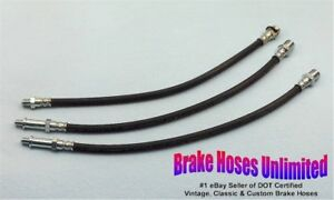BRAKE-HOSE-SET-Chevrolet-Truck-3200-1-2-Ton-1958-1959