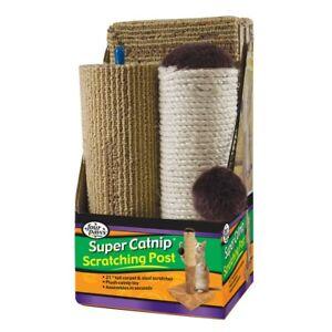 Four Paws Super Catnip Carpet and Sisal Cat Scratching Post Scratcher