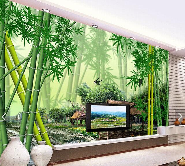 3D Bamboo 544 Wallpaper Murals Wall Print Wallpaper Mural AJ WALL AU Kyra