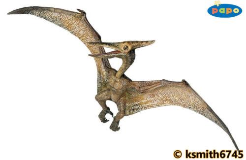 Nuovo * Papo PTERANODONTE in plastica solida giocattolo Giurassico Bird Volanti Dinosauri Animali