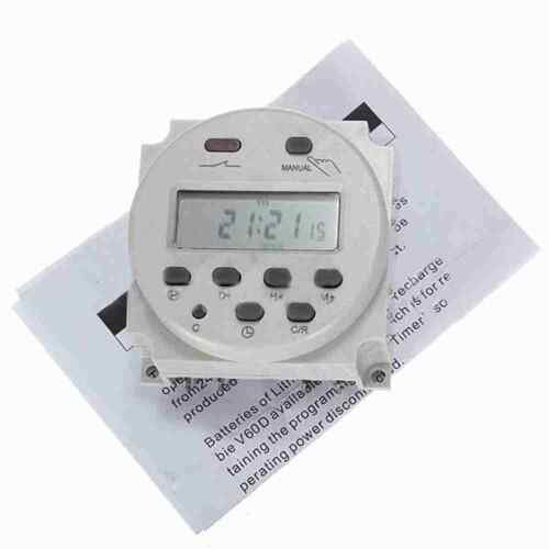 230V 16A Mini LCD Digital Programmable Control Power Timer Switch Time Relay HK