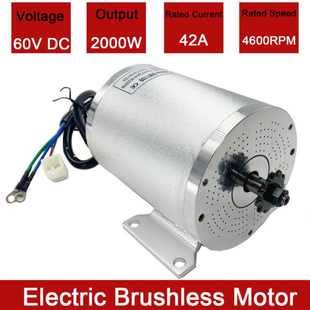 DC Electric E Scooter Motor 24 V 120 W 16 t belt Sprocket ZY6812 réversible 24 V