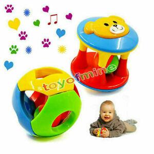 Be-Kinder-Holzspielzeug-Lernspielzeug-Tier-Nummer-Rassel-Motorik-Baby-Spielzeug