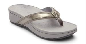 12b54a622ab7b8 Vionic Women s Pacific High Tide Toepost Sandals – Ladies Mid Heel ...