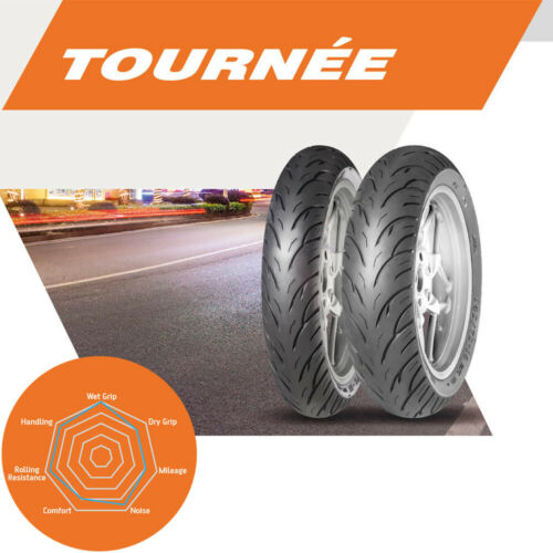 100//80-17 52S Anlas Tournee Sport Front Motorcycle Tyre Tubeless 100//80x17