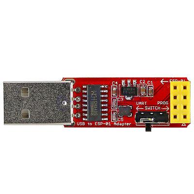 USB to ESP8266 ESP-01 Serial  Wi-Fi Adapter Module CH340G driver WT