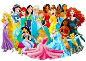 pictures of princesses all together