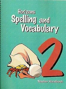 Horizons-Spelling-and-Vocabulary-2-Teacher-039-s-Guide-Free-Same-Day-Ship