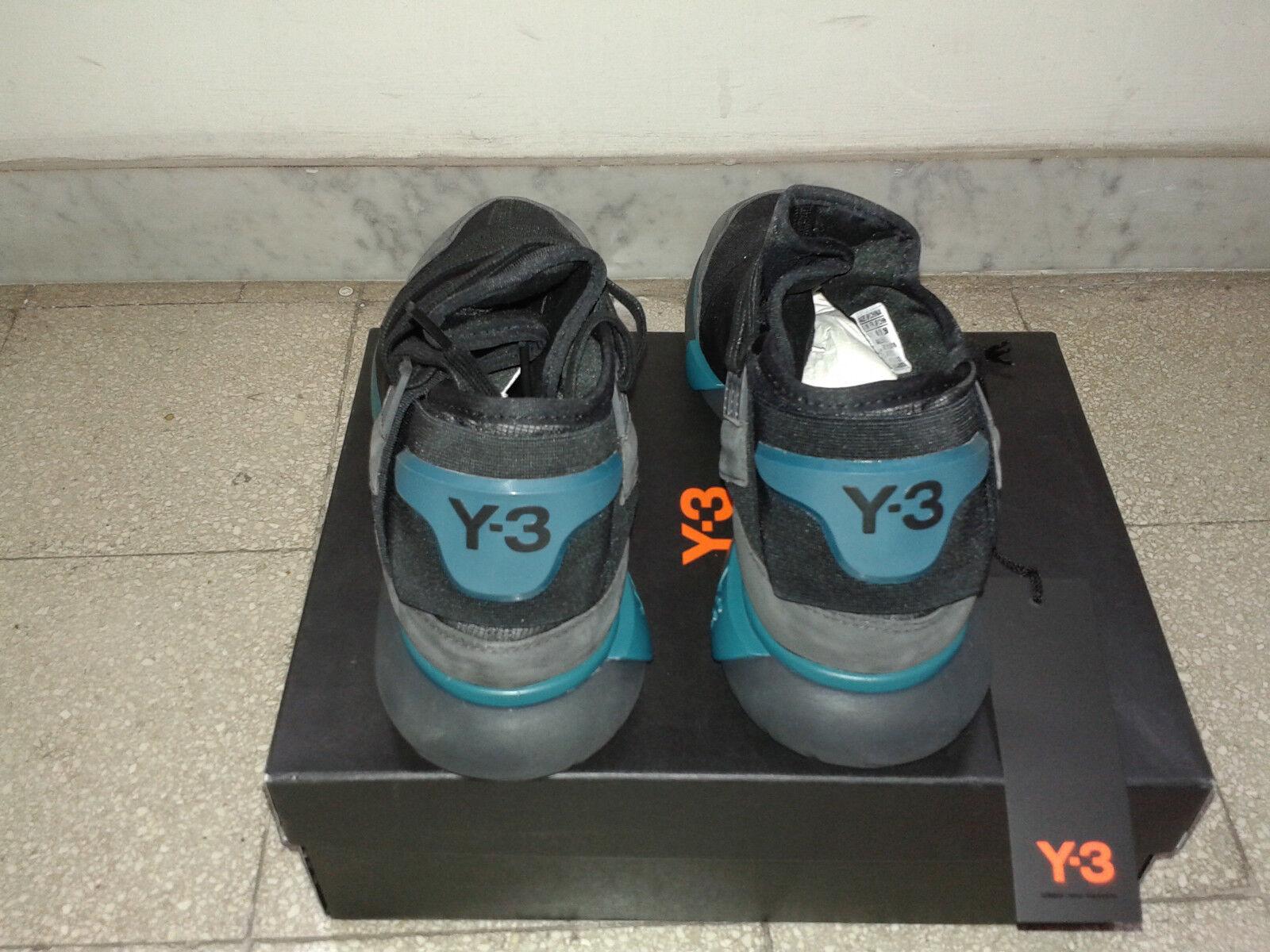 Adidas Y-3 Qasa High Suede Primeknit Yamamoto BB4735 nuove mai mai mai indossate c7b04b