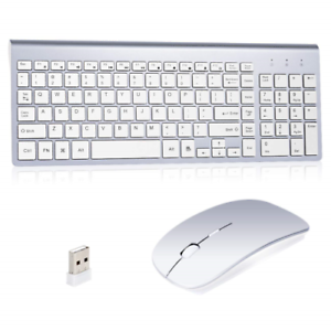 Wireless-Keyboard-And-Mouse-Combo-Set-2-4G-For-Apple-iMac-And-PC-Full-Size-Slim
