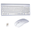 Wireless-Keyboard-And-Mouse-Combo-Set-2-4G-For-Apple-iMac-And-PC-Full-Size-Slim thumbnail 1