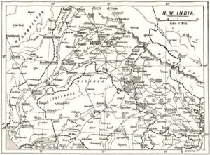 Anglican Missionary Stations West India Diocesan Boundaries 1922 Map Attractive And Durable Dashing North