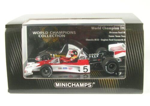 Mclaren ford m23 nº 5 formula 1 1974 emerson fittipaldi 1:43 Minichamps