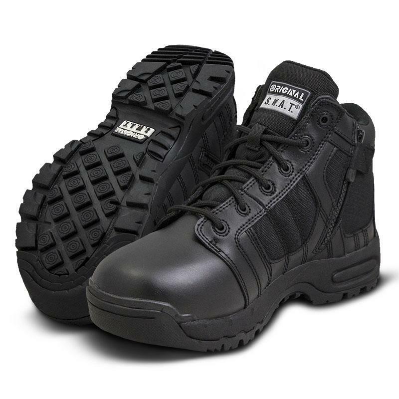 Original S.W.A.T. 126101 para hombre Metro 5  lado-Zip Seguridad Air botas Swat Zapatos