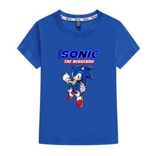 Niños Dibujos animados Mario Super Sonic Imprimir Ropa 3D Camisetas Disfraz