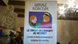 Le-droit-de-l-039-enfant-au-respect-de-Korczak-Livre-d-039-occasion