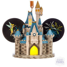 Disney Parks Cinderella Castle Light-Up Ear Hat Ornament - Walt Disney World