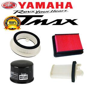 KIT 3 FILTRI ARIA MOTORE VARIATORE PER YAMAHA TMAX 500 2008 2009 2010 2011 2012