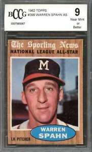 Warren-Spahn-Card-1962-Topps-399-As-Milwaukee-Braves-BGS-BCCG-9