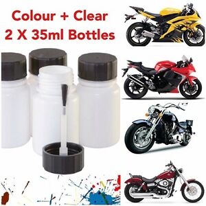 MOTORCYCLE-KYMCO-RED-MET-CODE-302-TOUCH-UP-PAINT-KIT-BOTTLES