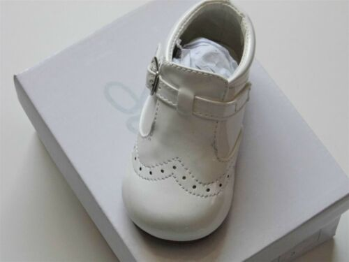 BABY BOY//TODDLER HARD SOLED SPANISH SHOES WITH HIGH TONGUE AND BUCKLE