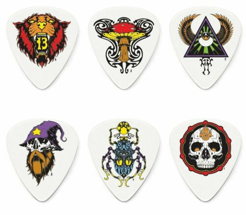 6//Player/'s Pack Dunlop BL115P.60 Alan Forbes Series 2 Picks Assorted .60mm