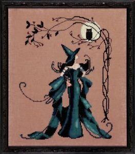 Minerva - Bewitching Pixies #NC221 Nora Corbett New Chart