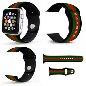 Sport-Silicone-Wrist-Bracelet-Band-Strap-For-Apple-Watch-Series-4-3-2-1-38-44mm