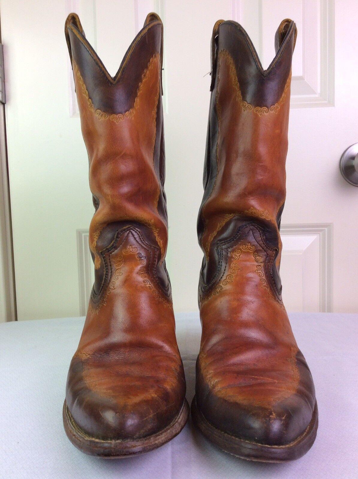 botas de hombre DURANGO WEST vaquero occidental Vintage De Cuero D