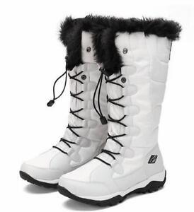 l'eau bottes glissement haut voyage velours neige de imperméable Femmes à formel top chaude résistant Nwv8Omn0